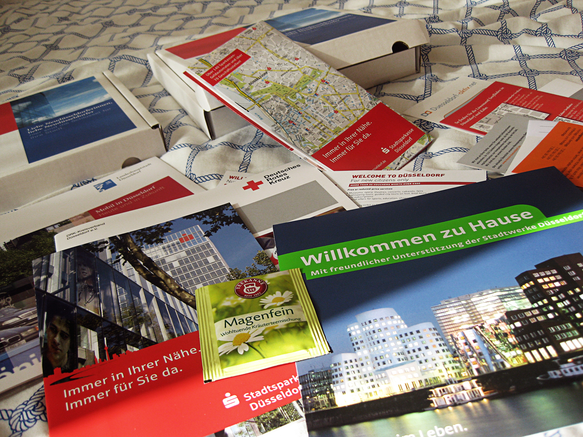 Düsseldorflase Welcome-Pack