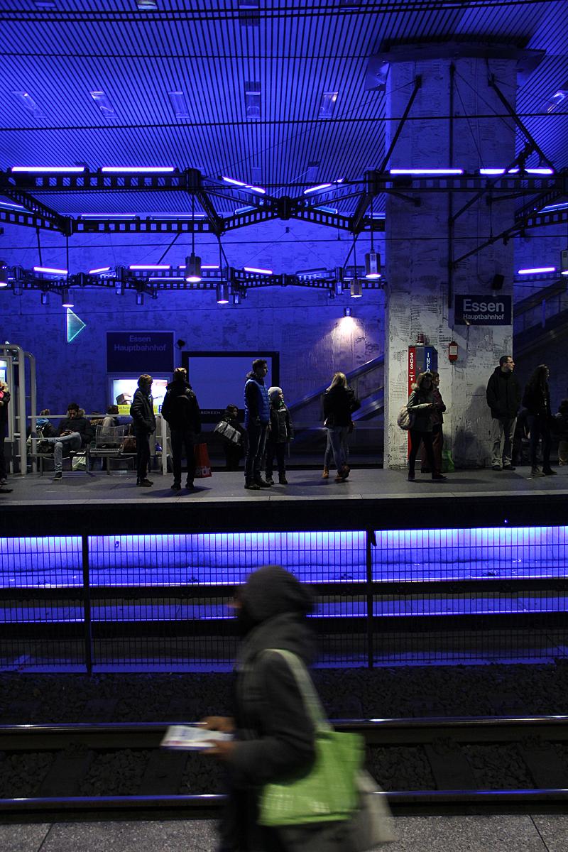Funky valgusega metroo