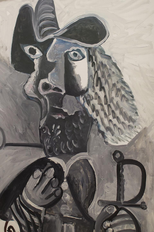 Stiilinäide Picasso tööst