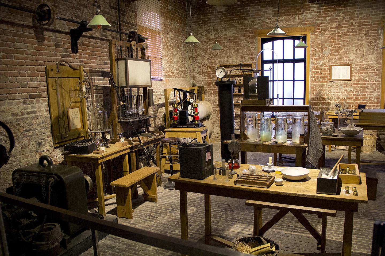 Kunagine Philipsi tehas asuski umbes-täpselt selle koha peal, kus nüüd on muuseum.