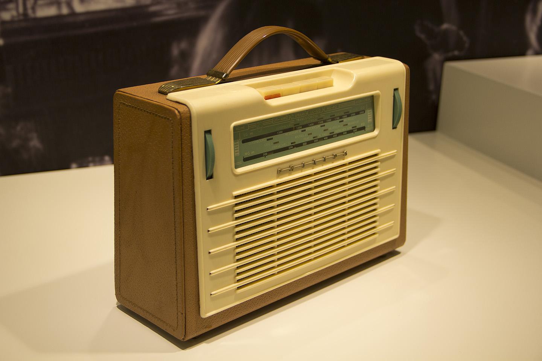 1957. aasta aparaadi kohta minu arvates väga stiilne disain