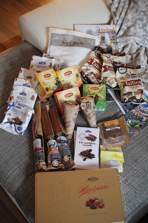 Jõulupakid Eestist