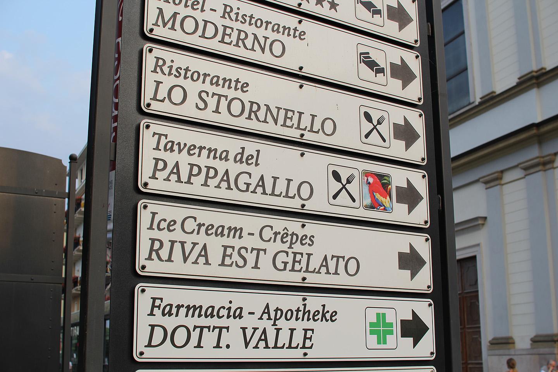 Kui keegi Stresasse peaks sattuma, siis Taverna del Pappagallo on kindel koht, kust saab head Pizzat!