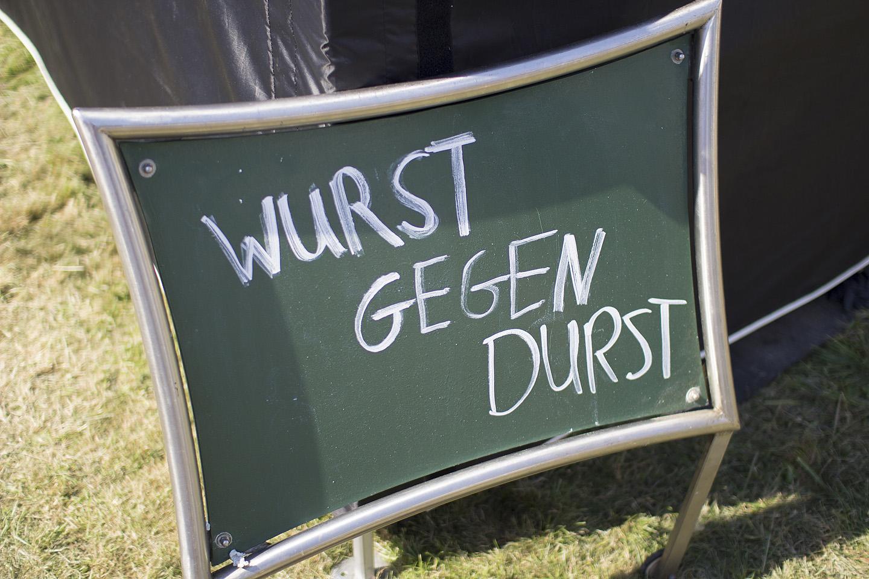 Wurst gegen Durst. Ehk et palava ilma puhul aitab janu vastu vorst !?!
