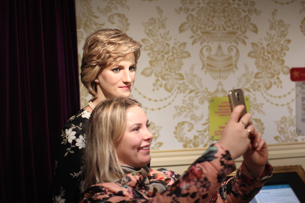 Väike selfie printsess Dianaga...