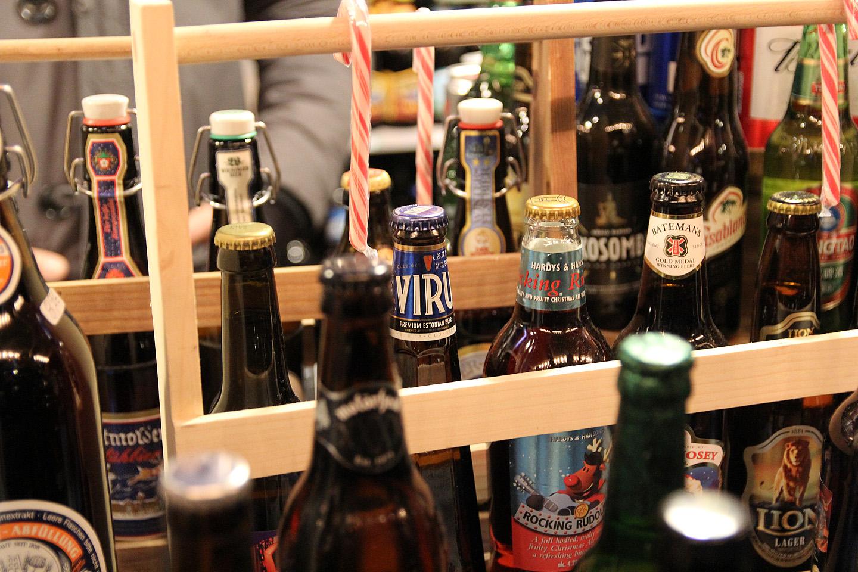 ...ja ei puudunud ka eksootiline Viru õlu Eestist.