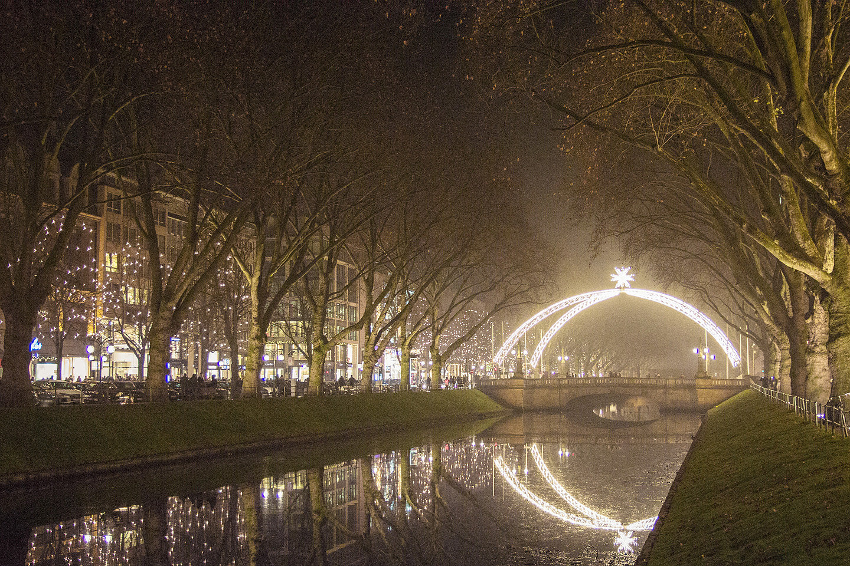 ...tegelikult on meie talv selline :DKönigsallee, Düsseldorf