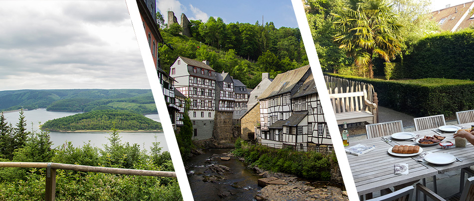 Eifel, Monschau, Brügge